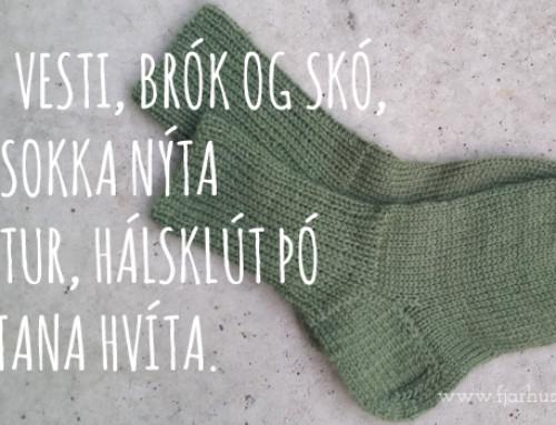 Af Halldóru Bjarnadóttur og hælnum sem við hana er kenndur