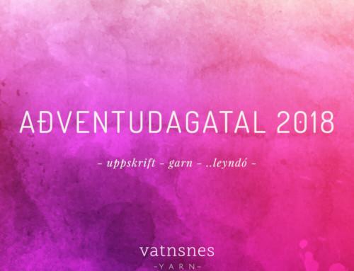 Aðventudagatal Vatnsnes Yarn árið 2018